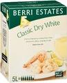 BERRI EST CLASS DRY WHITE 5 LITRE CASK