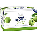 PURE BLONDE CRISP APPLE CIDER STUBBIES  - BUY PURE BLONDE AND GO INTO THE DRAW TO WIN A PURE BLONDE BIKE!
