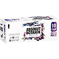 ABSOLUT BOTANIC BERRY LIME AND VODKA 10PK CANS