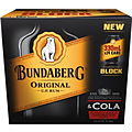 BUNDY AND COLA 330ML CAN 24PK BLOCK - 7 CTNS LEFT ONLY!