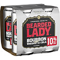 BEARDED LADY 10% AND COLA CANS