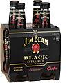JIM BEAM BLACK & COLA STB 4PK