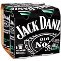 JACK DANIEL DOUBLE JACK and DRY CAN