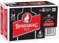 BUNDABERG RED & COLA STUBBIES