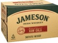 JAMESON RAW & COLA STUBBIES