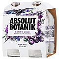 ABSOLUT BERRY LIME 4PK