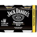 JACK DANIELS AMERICAN SERVE AND LEMONADE CANS 4PK