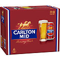 CARLTON MID 375ML CANS 30PK *PREMIERSHIP CANS WHILE STOCKS LAST!*