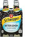 SCHWEPPES BITTER LEMON 300ML 4PK