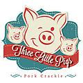 THREE LITTLE PIGS SALT + VINEGAR PORK CRACKLE