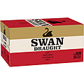 SWAN DRAUGHT 375ML STUBBIES - BUY SWAN AND GO INTO THE DRAW TO WIN A 50L SWAN DRAUGHT FRIDGE!