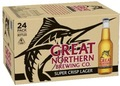 GREAT NORTHERN SUPER CRISP LAGER 3.5% 330ML STUBBIES
