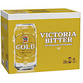 VIC BITTER GOLD CAN 375ML BLOCK