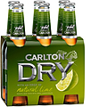 CARLTON LIME FUSION 375ML STUBBIES 6PK