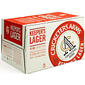 CRICKETERS ARMS KEEPERS LAGER STUBBIES