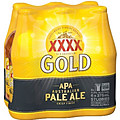XXXX GOLD AUSTRALIAN PALE ALE 375ML STUBBIES 6PK